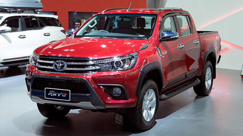 All New Toyota Hilux Revo