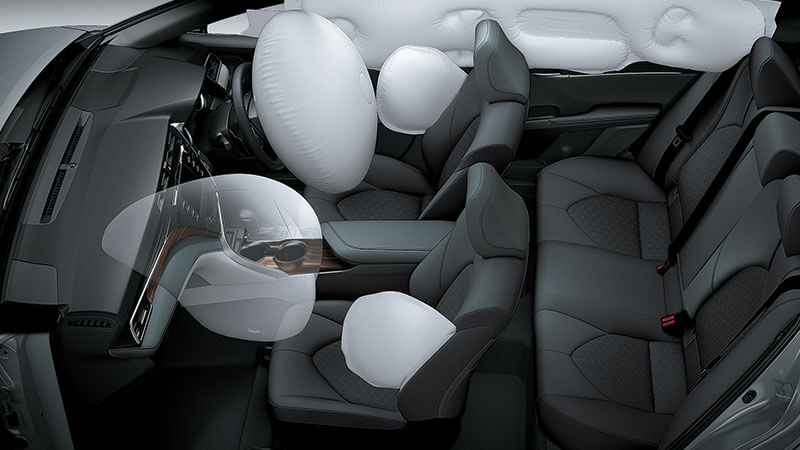 Toyota Camry Hybrid Safety Feature - 6 Airbags