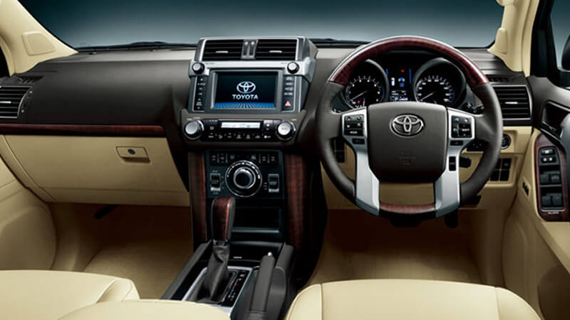 Toyota Land Cruiser Prado 2018 Dashboard