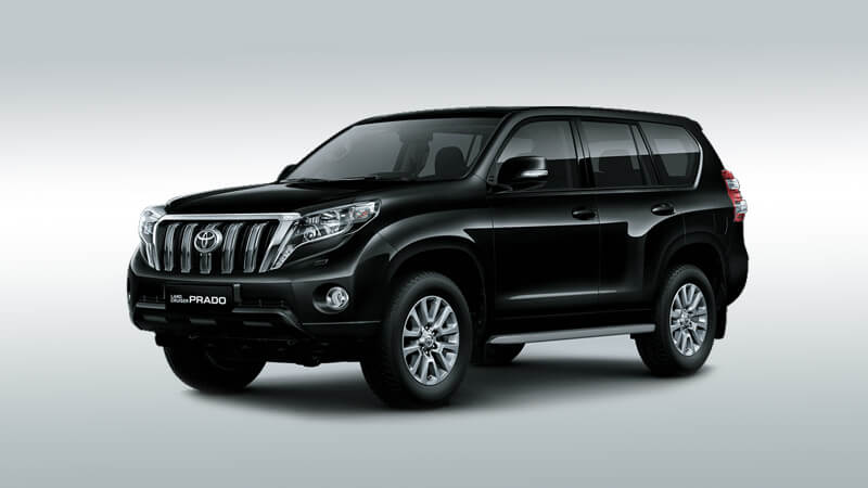 Toyota Land Cruiser Prado 2019 Black
