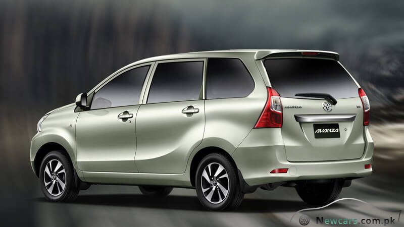New Toyota Avanza 2018 Back View