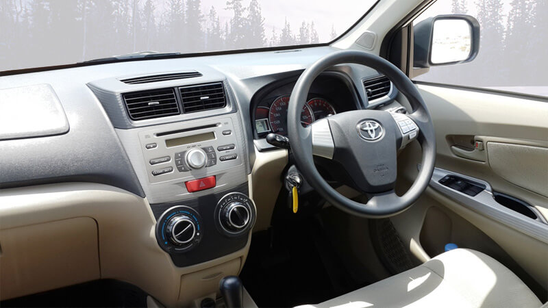 Toyota Avanza Dashboard View