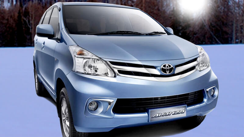 Toyota Avanza Front View