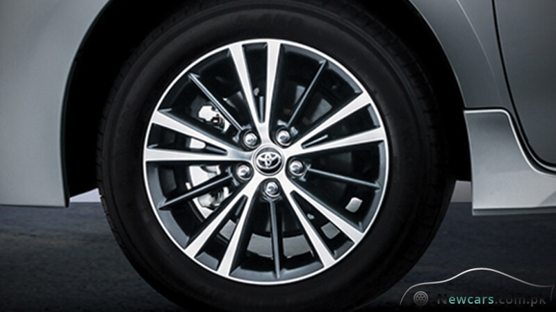Toyota Corolla Altis Allow Rims