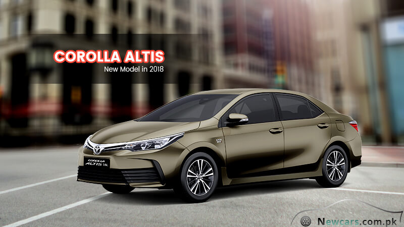 Toyota Corolla Altis in Bronze Mica Color
