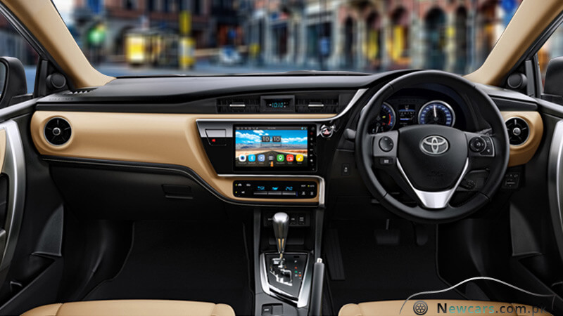 Review the new toyota corolla altis grande 2018 model in for Interior toyota auris 2018