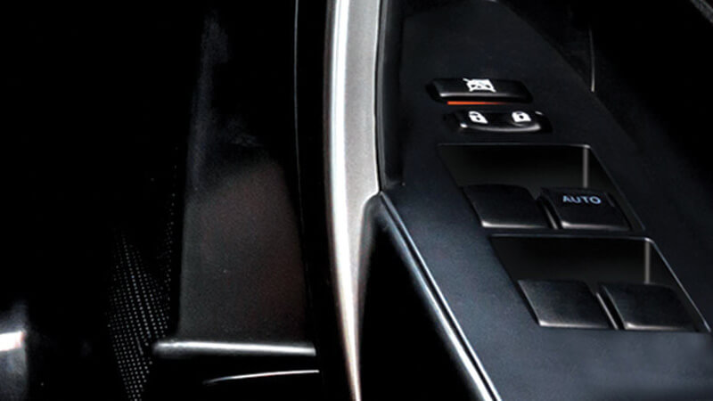 Toyota Corolla Altis Interior - Power Windows