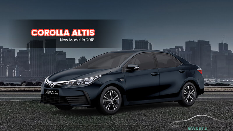 Toyota Corolla Altis in Strong Blue Color