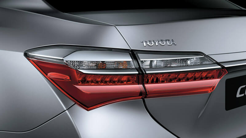 Toyota Corolla GLi 2018 LED Rear Combination Lamps