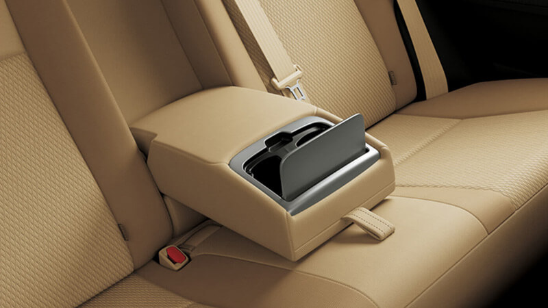 Toyota Corolla GLi 2018 Rear Armrest with Cup Holders