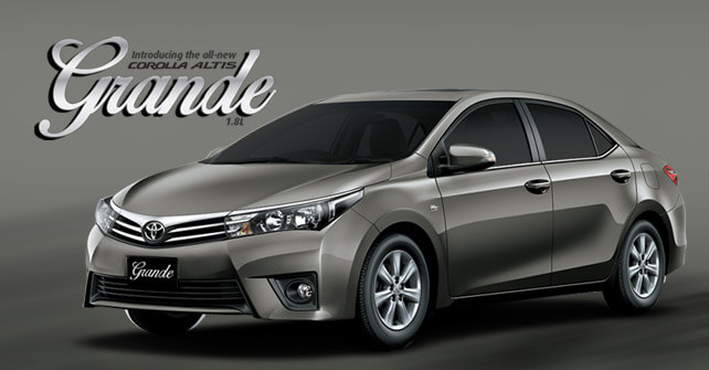 New Toyota Corolla Grande 2016 Price Pictures And Specs