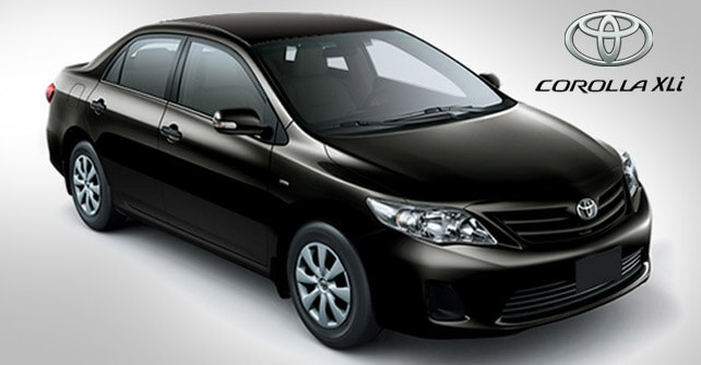 Toyota Corolla Xli Price with Pictures in Pakistan