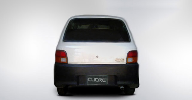 Toyota Daihatsu Cuore Back Side Full View