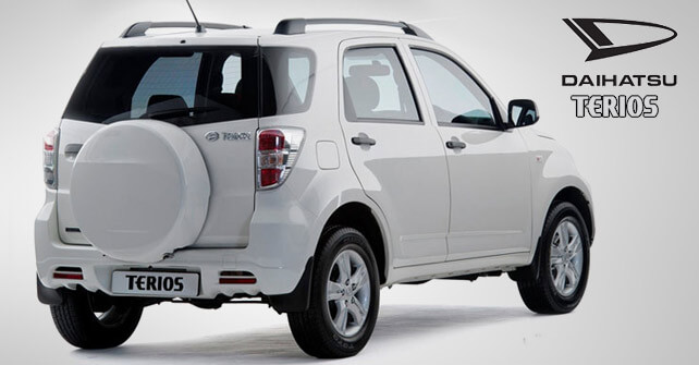 Daihatsu Terios White color Full View