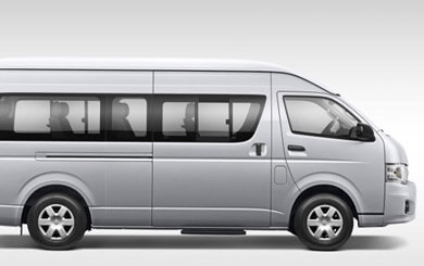 Toyota Hiace Exterior View