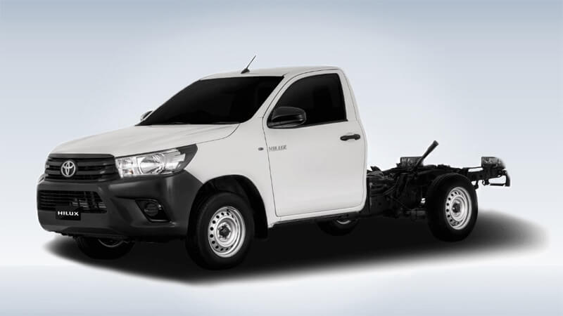 Toyota Hilux Deckless