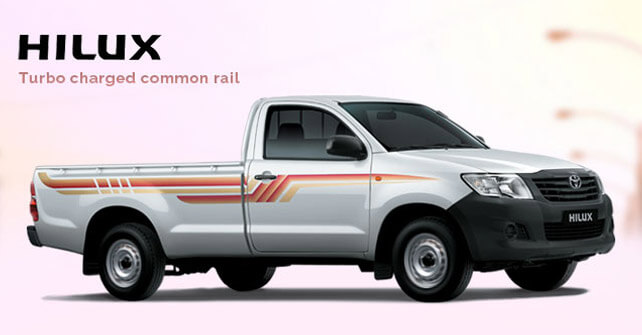 Toyota Hilux Side View Picture