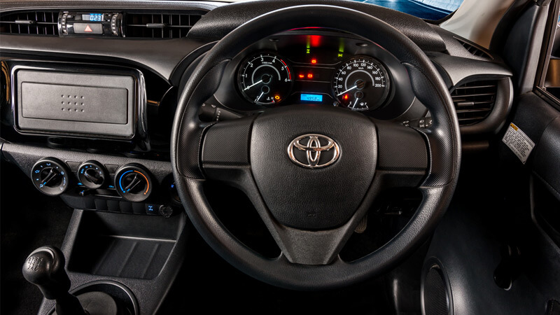 Toyota Hilux Steering View