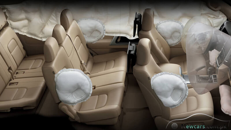 Toyota Land Cruiser Airbags