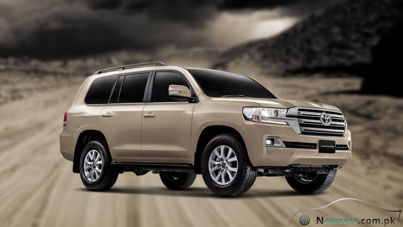 Toyota Land Cruiser Gold Dust Color