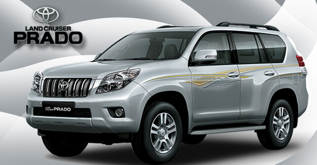 Toyota Land Cruiser Prado Side View