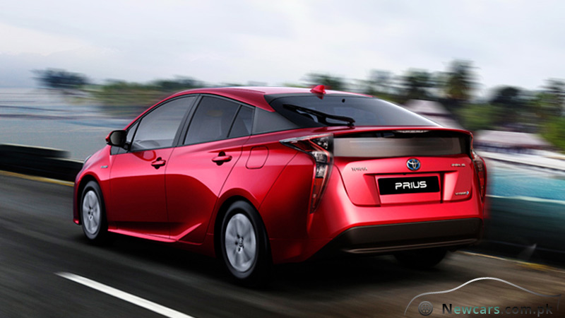 Toyota Prius Back Side View