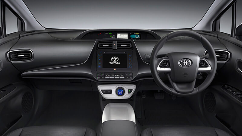 Toyota Prius 2017 Dashboard View