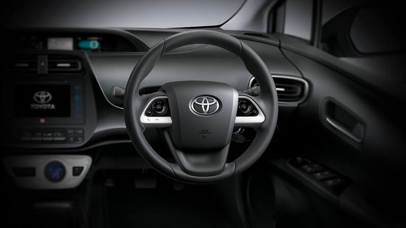 Toyota Prius Steering Switches
