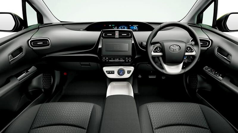 Toyota Prius Dashboard View