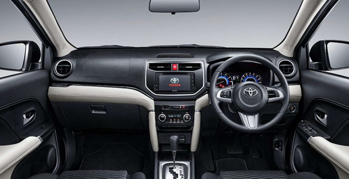Toyota Rush 2019 Interior Design