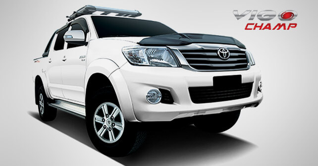 Toyota Vigo Champ New Model Price with Pictures in Pakistan 2013 2014