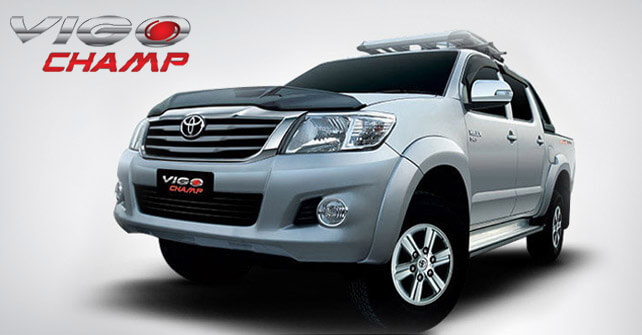 Toyota Vigo Champ New Model Price With Pictures In
