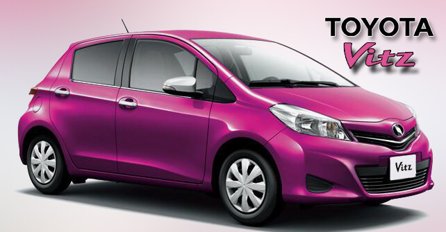 Toyota Vitz Pink Color