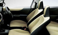 Toyota Vitz Seat Full View