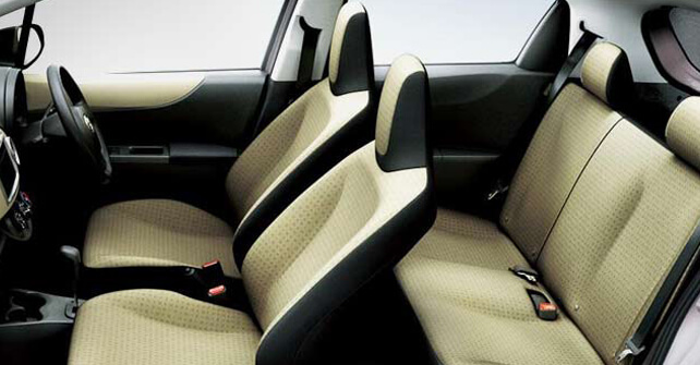 Toyota Vitz Seats Interior View