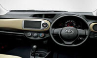 Toyota Vitz streeing Wheel View