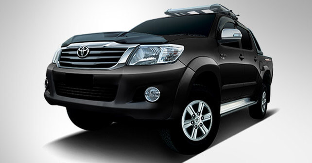 Toyota Vigo Champ Black Color